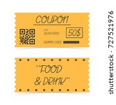 coupon ticket card. element... | Shutterstock .eps vector #727521976