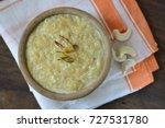 vermicelli kheer or pudding  an ... | Shutterstock . vector #727531780