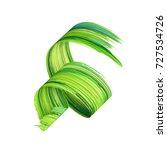 3d render  abstract brush... | Shutterstock . vector #727534726