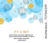 Baby Shower Boy Card Design...