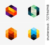 modern abstract design vector... | Shutterstock .eps vector #727546948