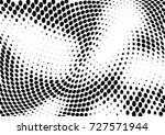 abstract halftone wave dotted... | Shutterstock .eps vector #727571944