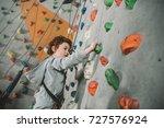 half length shot of little boy... | Shutterstock . vector #727576924