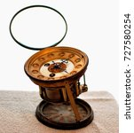 Small photo of Clock mechanism witch watchmakers tools