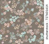 simple cute pattern in small... | Shutterstock .eps vector #727601614