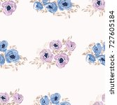 simple cute pattern in small... | Shutterstock .eps vector #727605184