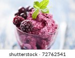 delicious dessert or ice cream  ... | Shutterstock . vector #72762541