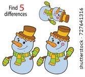 vector illustration of kids... | Shutterstock .eps vector #727641316