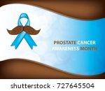 prostate cancer awareness month....   Shutterstock .eps vector #727645504