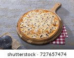 italian delicious fresh hot mix ... | Shutterstock . vector #727657474