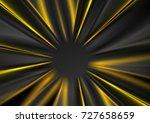 dark grey and yellow glowing... | Shutterstock .eps vector #727658659