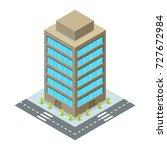 business center vector.... | Shutterstock .eps vector #727672984