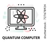 abstract icon of future... | Shutterstock .eps vector #727678924