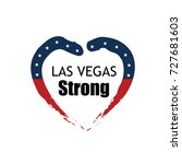 las vegas strong vector graphic ... | Shutterstock .eps vector #727681603