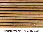 wooden wall from boards as a... | Shutterstock . vector #727687960