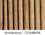 wooden wall from boards as a... | Shutterstock . vector #727688038