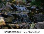 Scenic Cascade Waterfall Among...