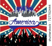 america background | Shutterstock .eps vector #727702444