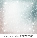 snowflakes on painting... | Shutterstock . vector #727712080