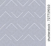vector geometric lines pattern. ... | Shutterstock .eps vector #727719010