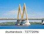bridge across the river  city...   Shutterstock . vector #72772096