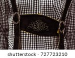 traditional german lederhosen... | Shutterstock . vector #727723210