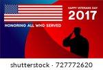 Veterans Day Design For Banner...