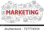 power lines slides point...   Shutterstock .eps vector #727776514