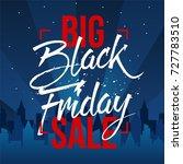 abstract vector black friday... | Shutterstock .eps vector #727783510