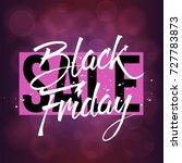 abstract vector black friday... | Shutterstock .eps vector #727783873