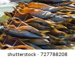 smoked fish omul   Shutterstock . vector #727788208