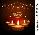 diwali | Shutterstock .eps vector #727792984