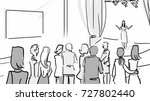 a public appearance. the singer ... | Shutterstock .eps vector #727802440
