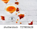 Fall Pumpkin Martini Cocktail...