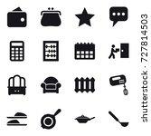 16 vector icon set   wallet ...