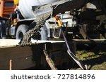 A Mixer Truck Providing Wet...