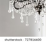 contemporary crystal chandelier ... | Shutterstock . vector #727816600
