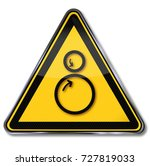 danger rollers  pulling in and... | Shutterstock . vector #727819033