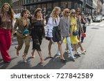 milan  italy   september 22 ... | Shutterstock . vector #727842589