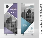 business roll up design... | Shutterstock .eps vector #727846924