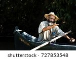 danube delta tulcea romania  ... | Shutterstock . vector #727853548