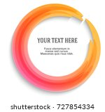 label blank template  white... | Shutterstock .eps vector #727854334