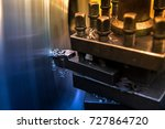 close up industrial cnc milling ... | Shutterstock . vector #727864720