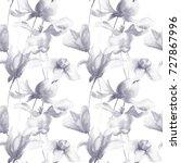 seamless wallpaper with summer...   Shutterstock . vector #727867996
