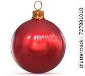 Red Christmas Ball Decoration...