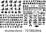 Halloween Silhouette Elements...