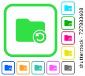 undo directory last operation... | Shutterstock .eps vector #727883608