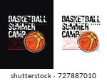 basketball design  vector... | Shutterstock .eps vector #727887010