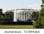 Small photo of The White House is the official residence and workplace of the President of the United States. It is located at 1600 Pennsylvania Avenue NW in Washington, D.C, August 4, 2017