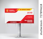 billboard design  graphic... | Shutterstock .eps vector #727894618
